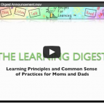 Learning Digest Announcement Video Image